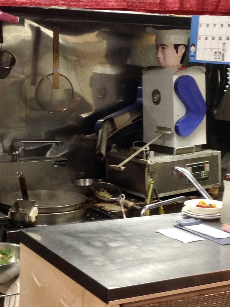 刀削麺ロボ