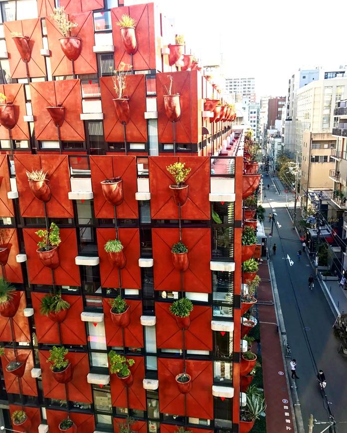 植木鉢ビル