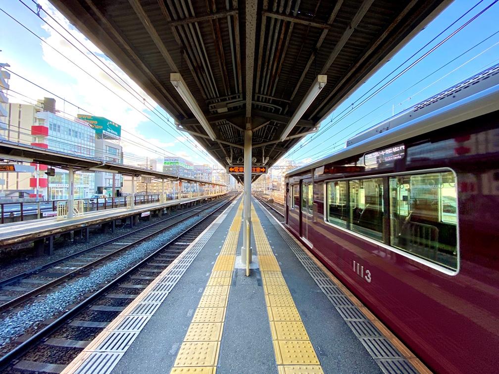 中津駅ホーム