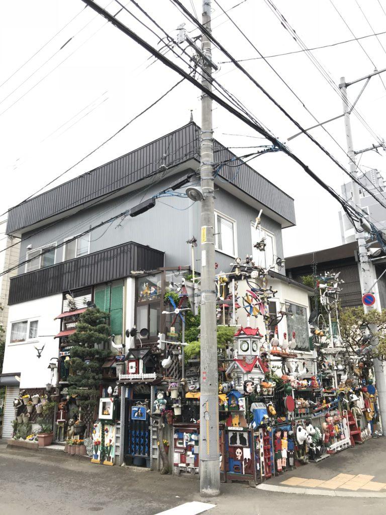 写真:信号機住宅