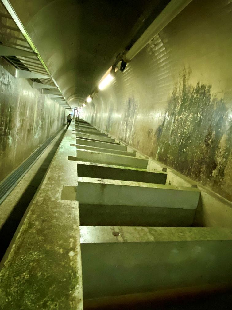 潜孔式魚道